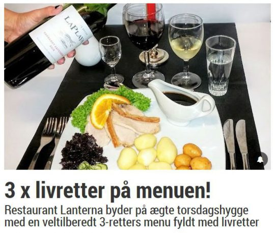 Super god deal på Lanterna