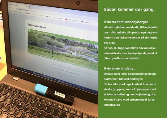 Ny digital platform for landsbyer på Stevns
